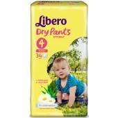 Изображение Libero Dry Pants №4 7-11 кг Трусики-Подгузники 34шт