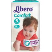 Изображение Libero Comfort №5 10-16 кг Подгузники 18шт