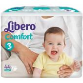 Изображение Libero Comfort №3 4-9 кг Подгузники 44шт