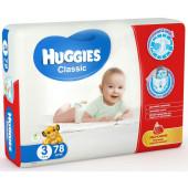 Изображение Huggies Classic №3 4-9кг Подгузники 78шт