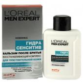 Изображение L'Oreal Paris Men Expert Гидра Сенситив Для Чувствительной Кожи Бальзам после бритья 100мл