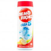 Изображение Пемолюкс Сода 5 Лимон Порошок Универсальный 480г
