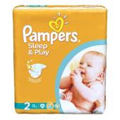 Изображение Pampers Sleep & Play Mini №2 3-6кг Подгузники 18шт