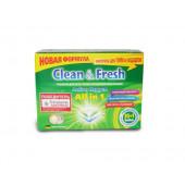 Изображение Clean&Fresh Таблетки Для Посудомоечных Машин 30  шт