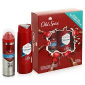 Изображение Подарочный набор Old Spice Дезодорант  Odor Blocker 125 мл И Гель Для Душа Whitewater 250 мл