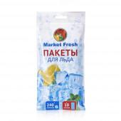 Изображение Market Fresh Пакеты Для Льда 10 листов