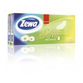 Изображение Zewa Softis Aloe Balsam 4-слойные Бумажные Платочки Блок 10*10шт