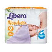 Изображение Libero Newborn №0 <2,5 кг Подгузники 24шт
