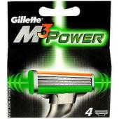 Изображение Gillette M3 Power  Сменные Кассеты для бритья 4шт