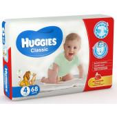 Изображение Huggies Classic №4 7-18кг Подгузники 68шт