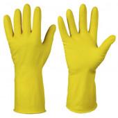 Изображение Хозяюшка Мила перчатки хозяйственные L