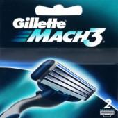 Изображение Gillette Mach3 Сменные Кассеты для бритья 2шт
