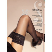 Изображение Sisi Queen Чулки 20 den 4-L Nero