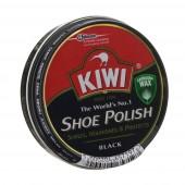 Изображение Kiwi Shoe Polish для Гладкой Кожи Черный Крем 50мл