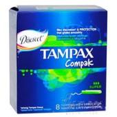Изображение Tampax Compak Super Тампоны Женские Гигиенические с Аппликатором 8шт