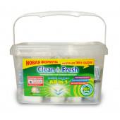 Изображение Clean&Fresh Таблетки Для Посудомоечных Машин 60  шт