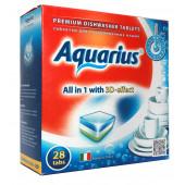 Изображение Aquarius Таблетки Для Посудомоечных Машин 28  шт