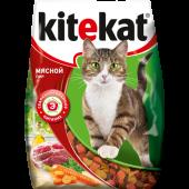 Изображение Kitekat Мясной Пир Сухой Корм Для Взрослых Кошек 1,9 кг