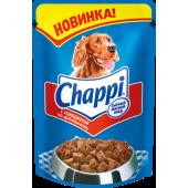 Изображение Chappi Консервированный Корм С Говядиной По-Домашнему 85 г