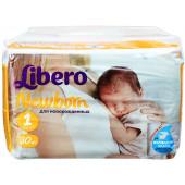 Изображение Libero Newborn №1 2-5 кг Подгузники 30шт