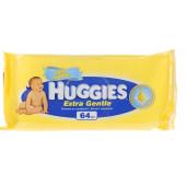 Изображение Huggies Extra Gentle Детские Влажные Салфетки 64шт