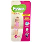 Изображение Huggies Ultra Comfort Подгузники Для Девочек №5 12-22 кг 64 шт