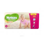 Изображение Huggies Ultra Comfort Подгузники Для Девочек №4+ 10-16 кг 60 шт