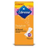 Изображение Libresse Dailyfresh Normal Женские Гигиенические Прокладки на каждый день 60шт