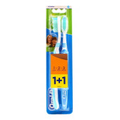 Изображение Oral-B 3-Effect Натуральная Свежесть Средняя Жесткость Зубная Щетка 1+1