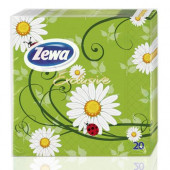 Изображение Zewa Exclusive 3-слойные Столовые Бумажные Салфетки 20шт