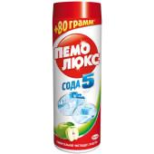 Изображение Пемолюкс Сода 5 Яблоко Порошок Универсальный 480г