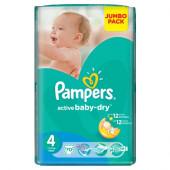 Изображение Pampers Active Baby-Dry Maxi №4 7-14кг Подгузники 70шт