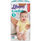 Изображение Libero Comfort №3 4-9 кг Подгузники 68шт
