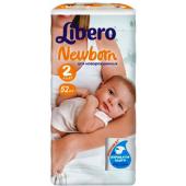 Изображение Libero Newborn №2 3-6 кг Подгузники 52шт