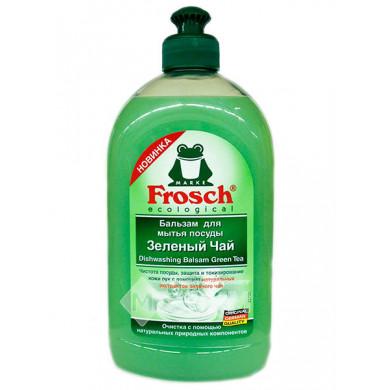 Frosch Зеленый Чай Бальзам Для Мытья Посуды 500 мл